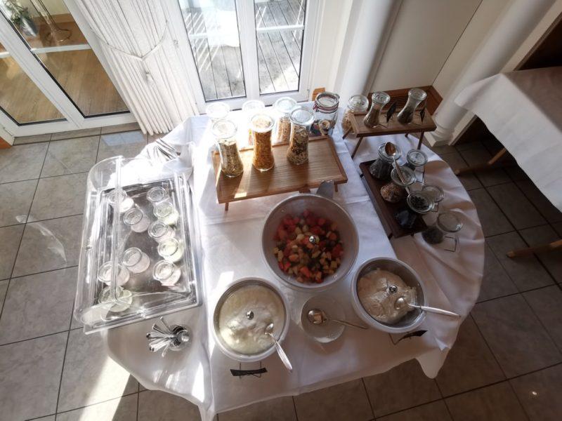 Müsli und Co. zum Frühstück