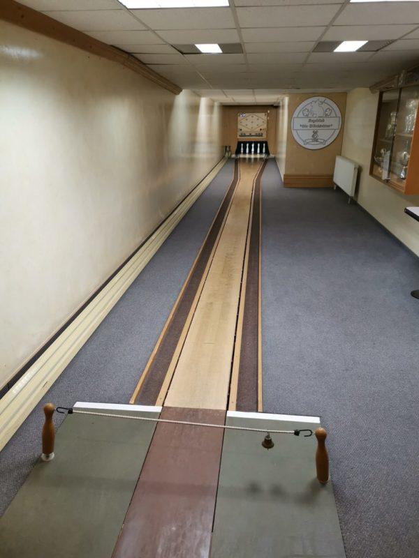 Kegelbahn im Sauerländer Hof