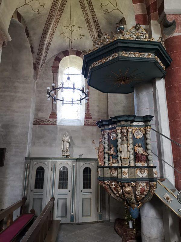 Kanzlei in der St. Peter und Paul Kirche Wormbach