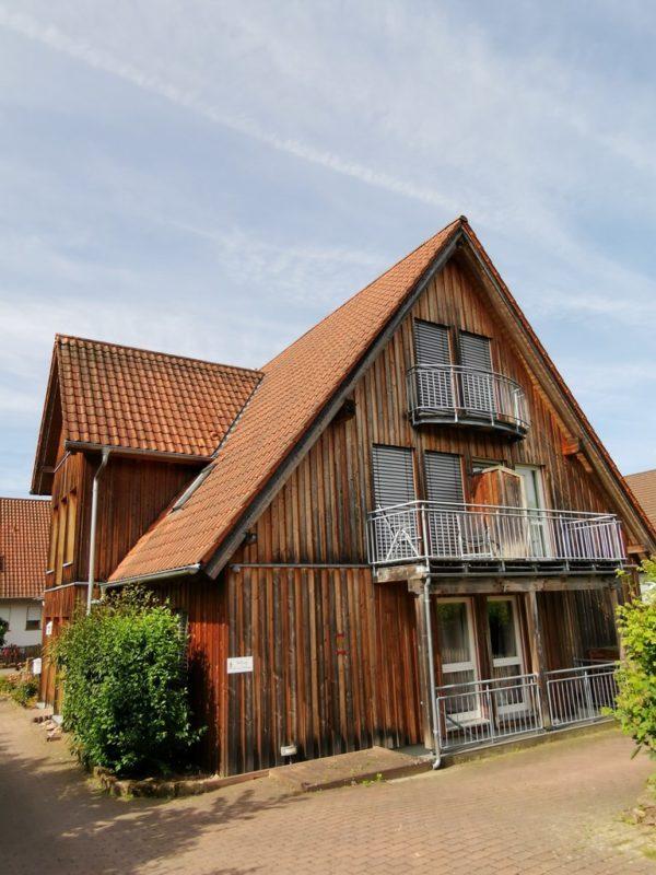 Das Landhotel-Holzhaus in Bürgstadt
