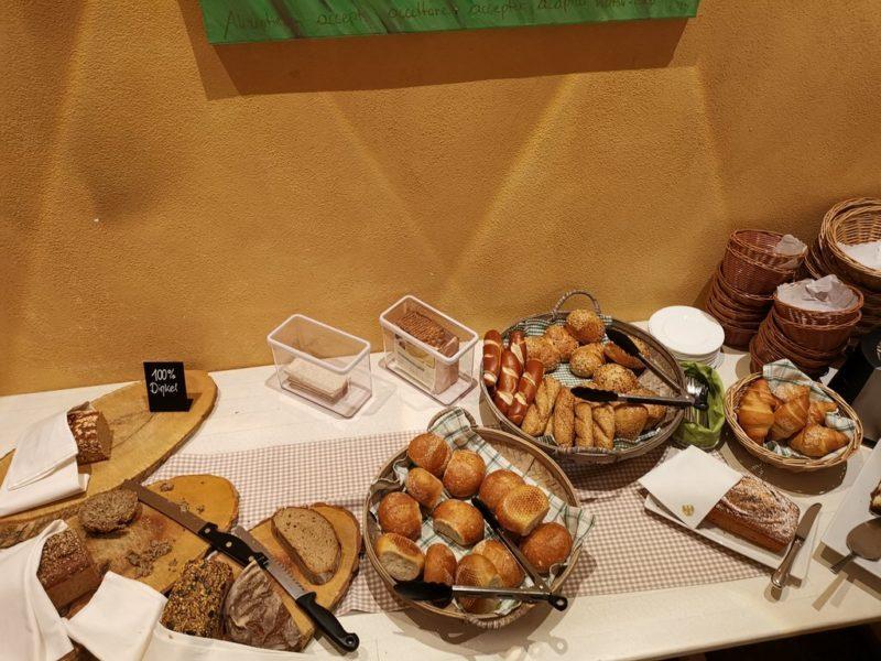 Brot und Brötchen im Adler Landhotel Bürgstadt
