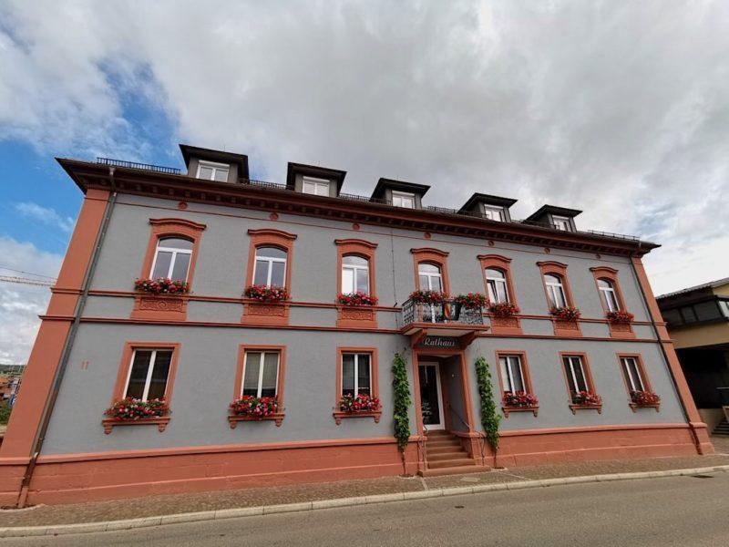 Das Rathaus in Bötzingen