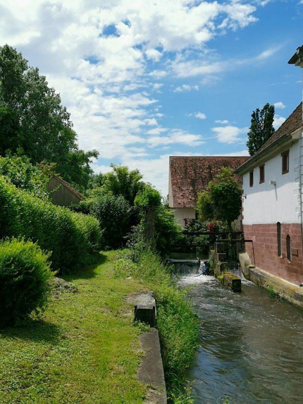 Die Untere Mühle in Bötzingen, letzte Station auf dem Brunnenpfad