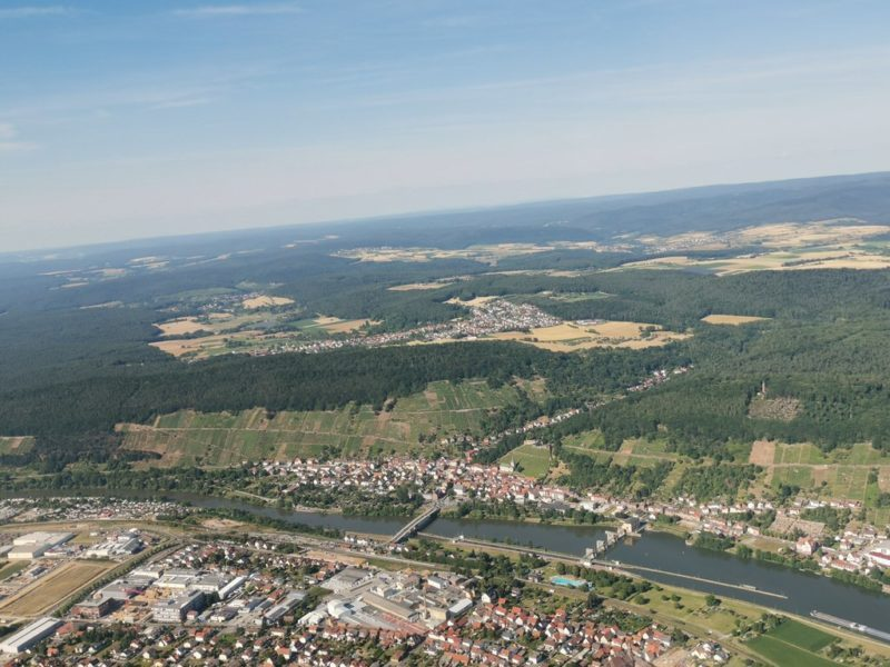 Klingenberg am Main von oben