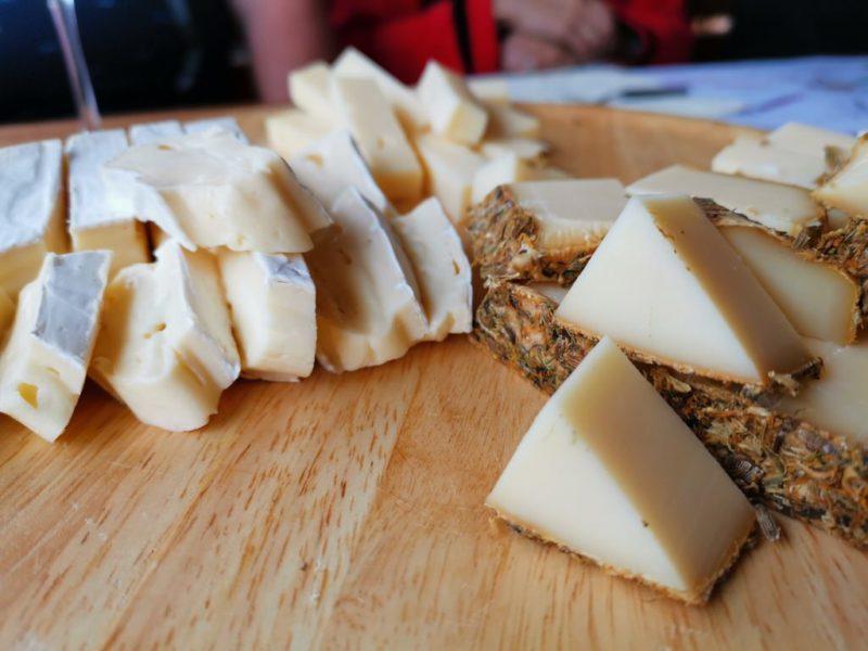 Verschiedene Käse