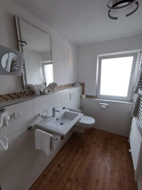 Das Badezimmer - schön neu gemacht