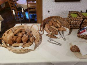 Auswahl von Brötchen und Broten für jeden Geschmack