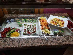 Obst und Gemüse zum Frühstück