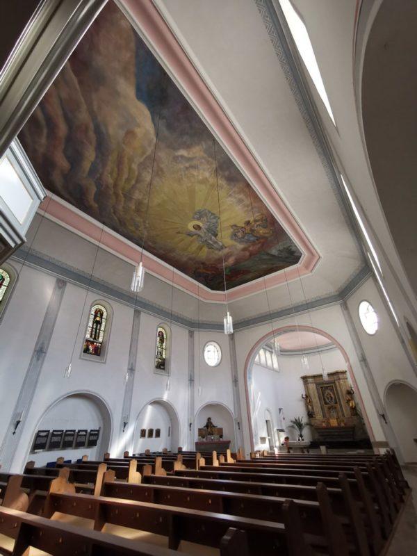 Ein Blick in die Johanneskirche in St. Goarshausen