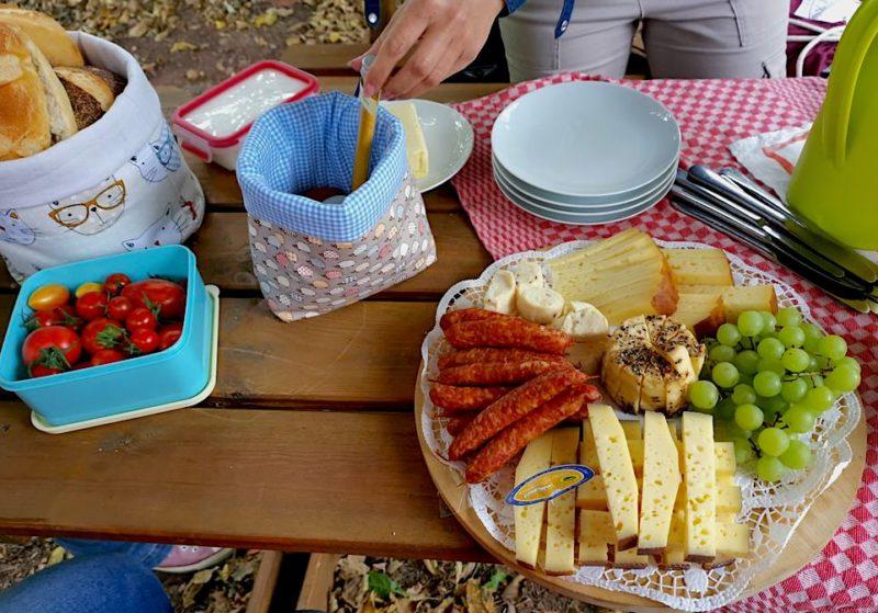 Übersicht Picknick vom Hofladen Futterkrippe von Birte Brand