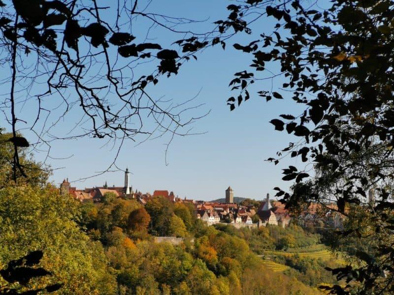 Was für eine tolle Ansicht - Rothenburg von der anderen Seite her