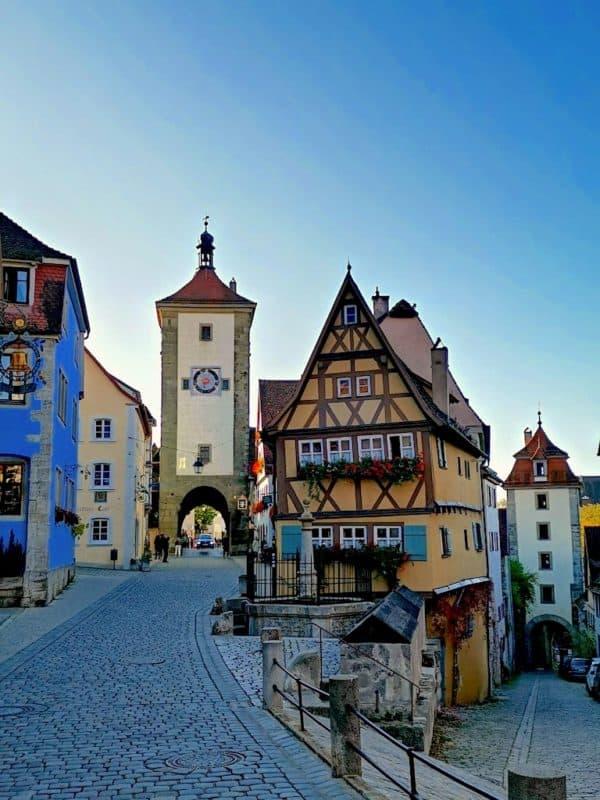 Das Plönlein Rothenburg ob der Tauber
