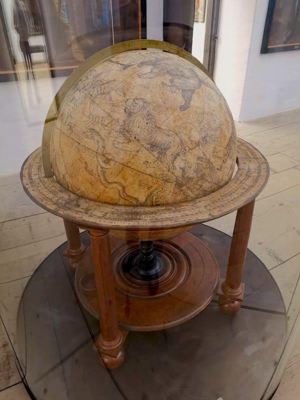Globus aus dem 17. Jahrhundert aus Amsterdam