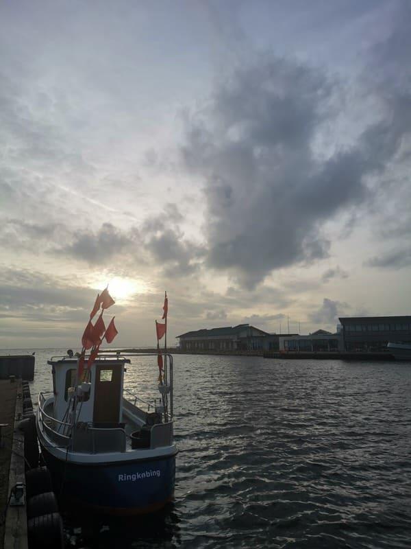 Der Hafen von Ringkobing
