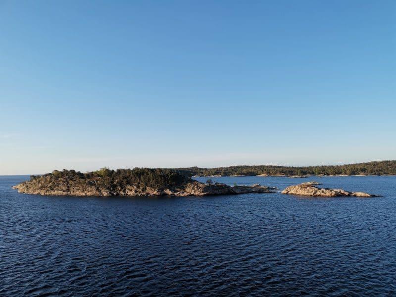 Insel vor Kristanstadt