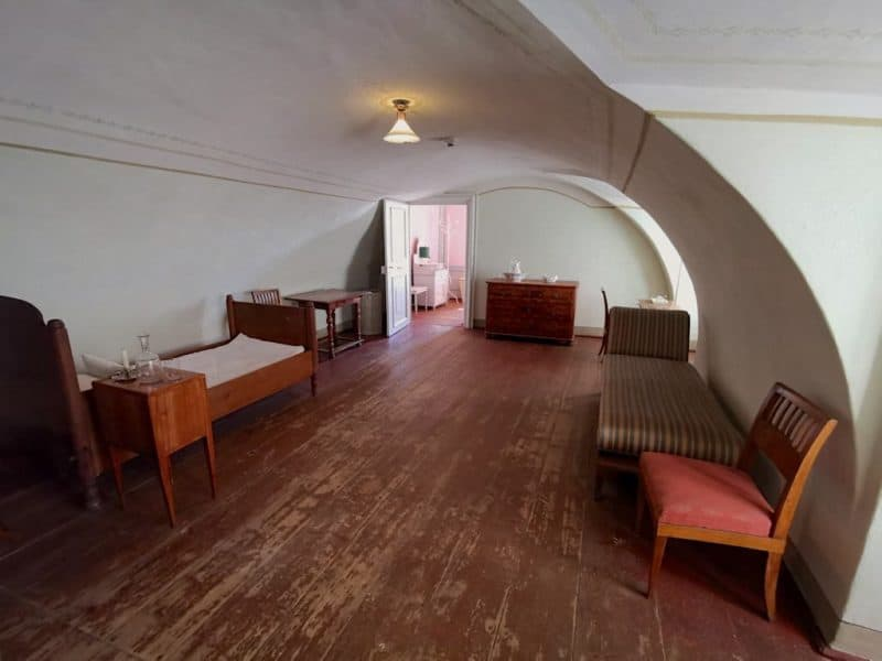 Dienstbotenzimmer im Schloss Esterházy