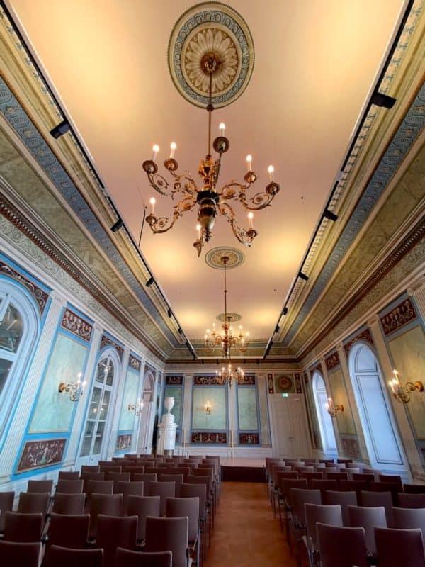 Der kleine Saal im Schloss Esterházy