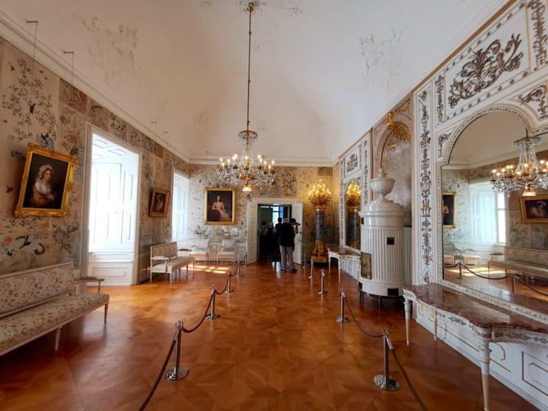 Das Schlafzimmer der Fürstin im Schloss Esterhazy
