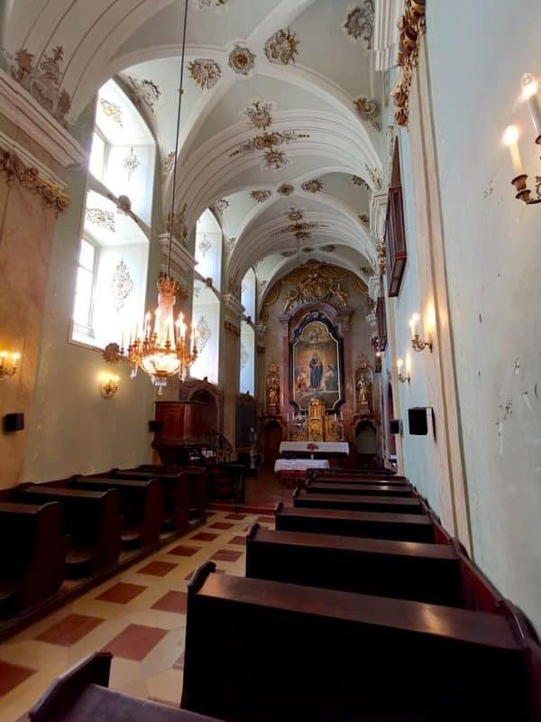 Beeindruckende Schlosskapelle im Schloss Esterházy