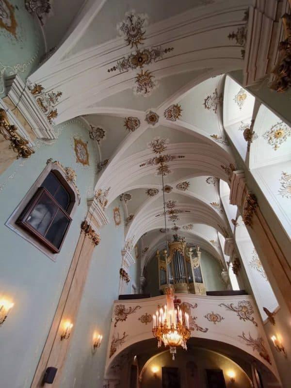 Decke der Schlosskapelle