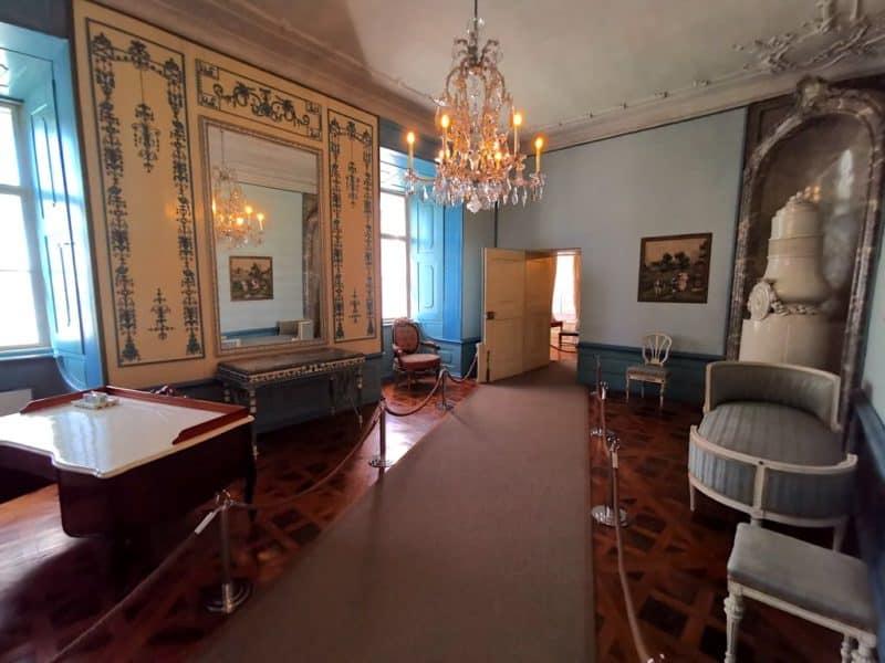 Schreibkabinett der Fürstin im Schloss Esterházy