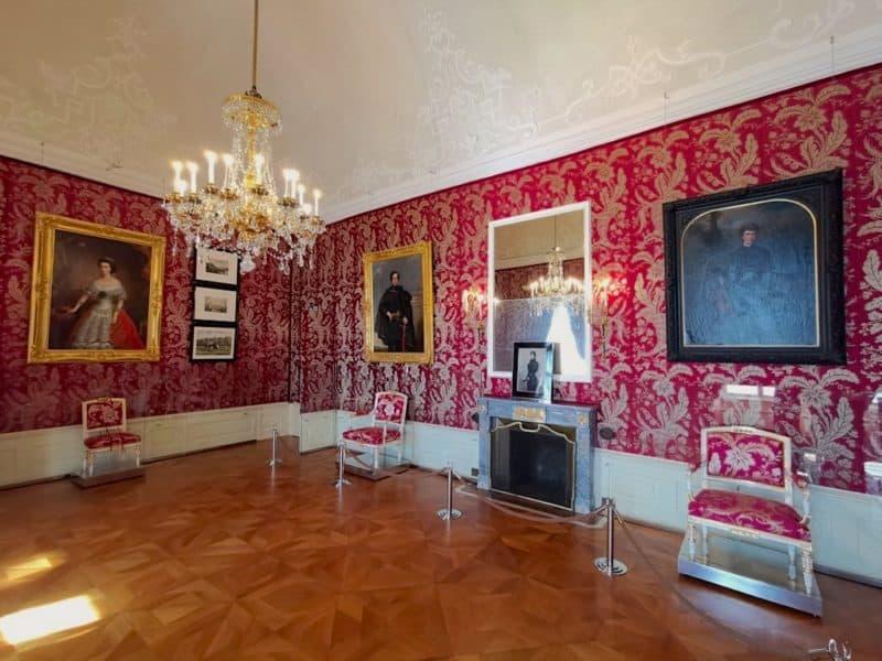 Das Sitzzimmer der Fürstin im Schloss Esterházy