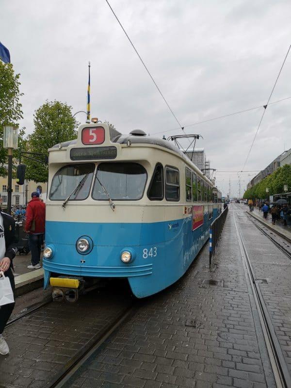 Strassenbahn in Göteborg