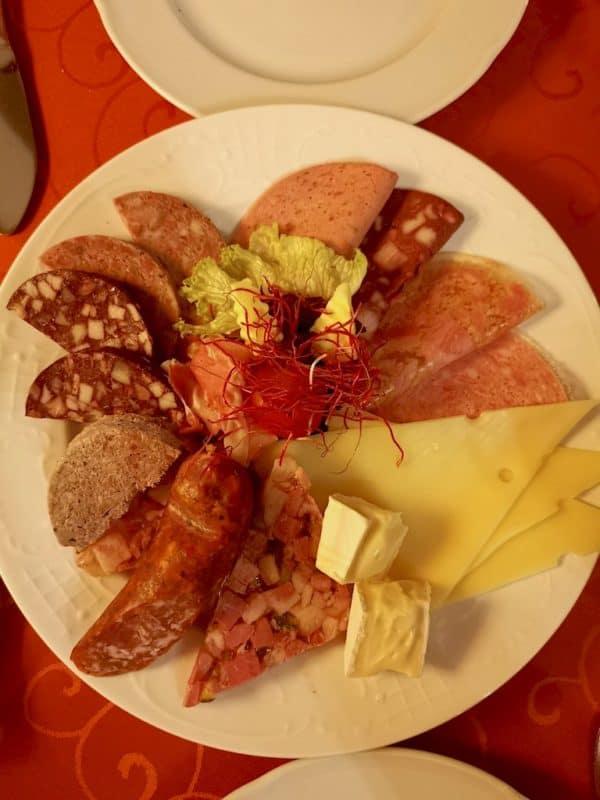 Fränkische Häckermahlzeit im Gasthof Glocke Rothenburg