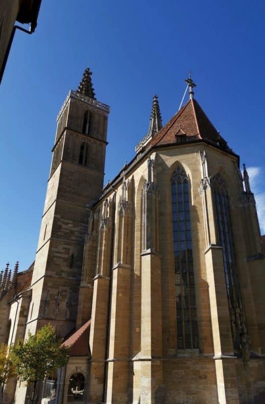 Die St. Jakobskirche von außen