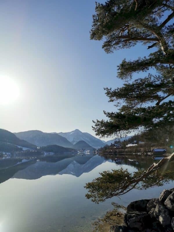 Blick über den Gründlsee