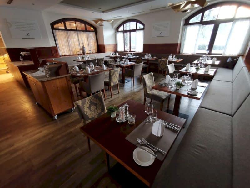 Hauptbereich des Restaurants