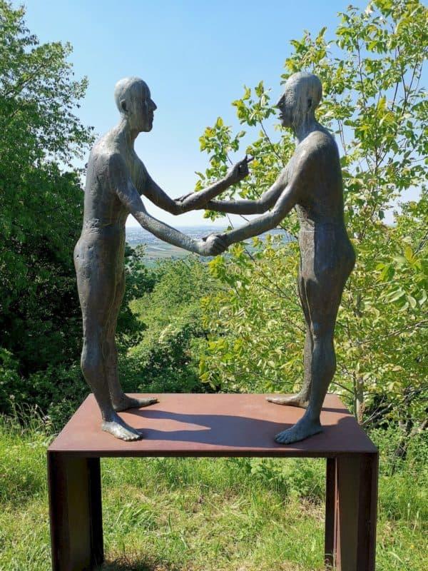 Noch mehr Skulpturen auf dem Skulpturenweg
