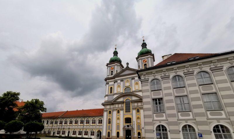 Und einmal noch das Kloster Waldsassen im Weitwinkel