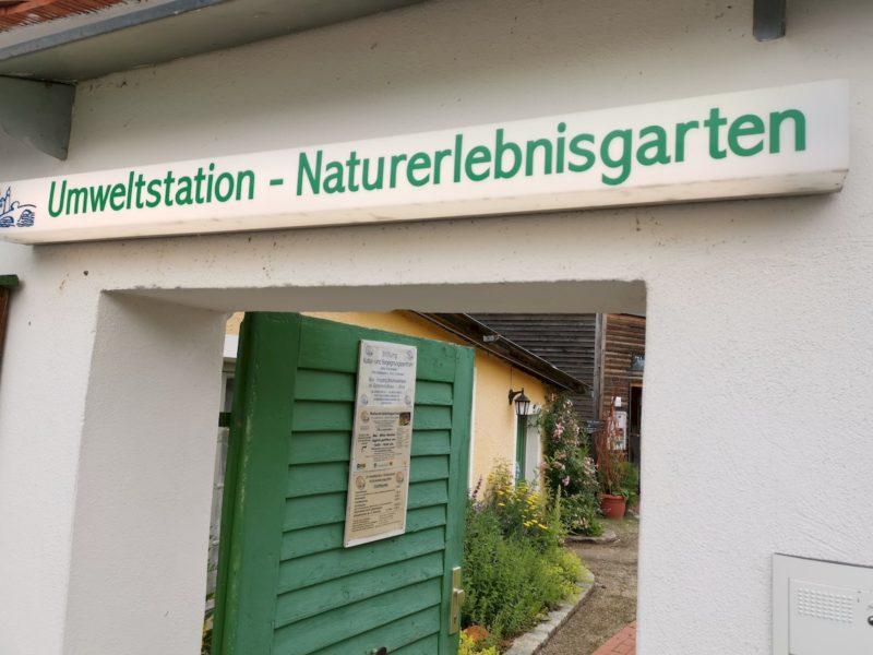 Der EIngang zur Umweltstation Waldsassen