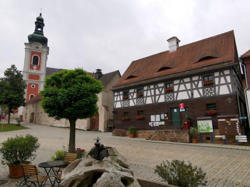 Die Gästeinformation in Bad Neualbenreuth