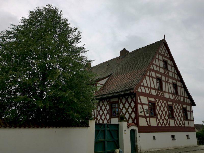 Und noch ein schönes Fachwerkhaus in Bad Neualbenreuth