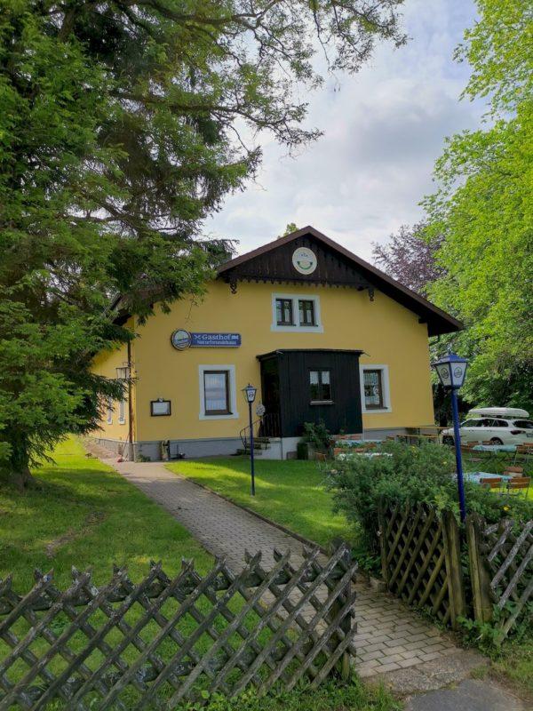 Unser Startpunkt für den Rinnlstein-Rundweg: Das Naturfreundehaus Wernersreuth