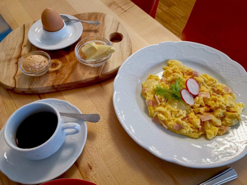 Frühstück Teil 2: das Rührei