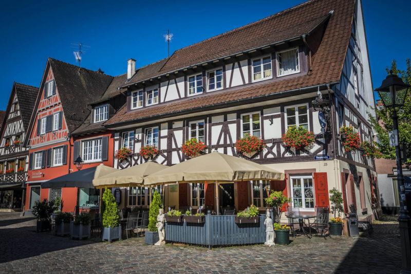 Fachwerk in Haslach im Schwarzwald (Foto: Tourist Information Haslach / Hermann Schmider)