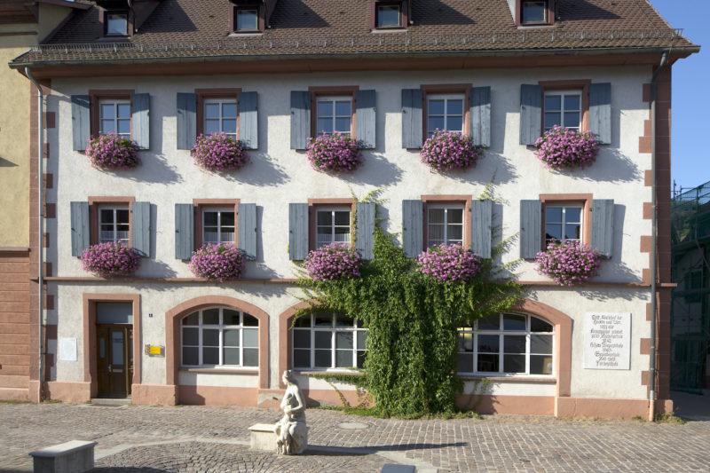 Der Kornspeicher in Schopfheim (Foto: AK Städte - Architektur)