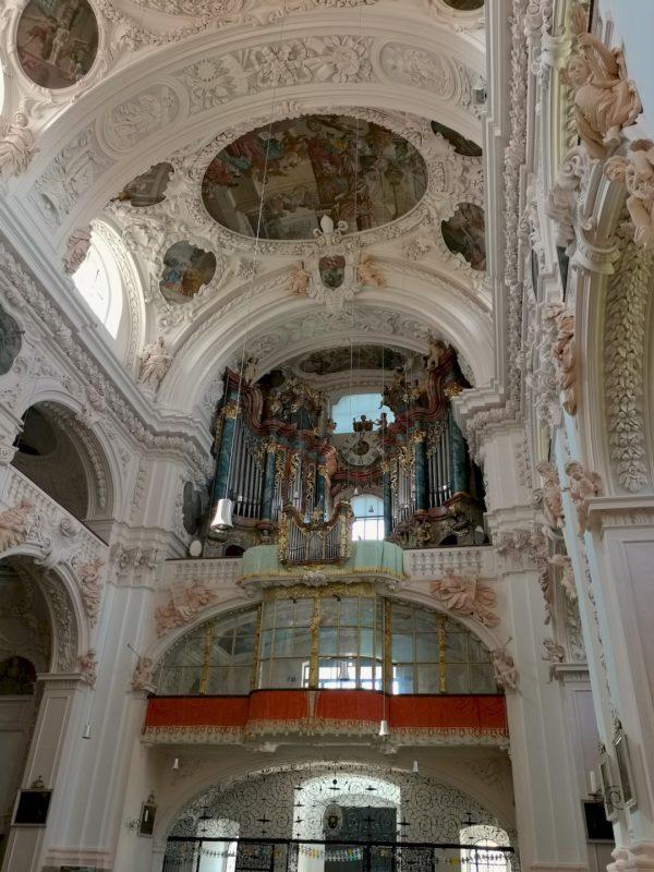 Die Hauptorgel (Marienorgel) in der Stiftsbasilika Waldsassen