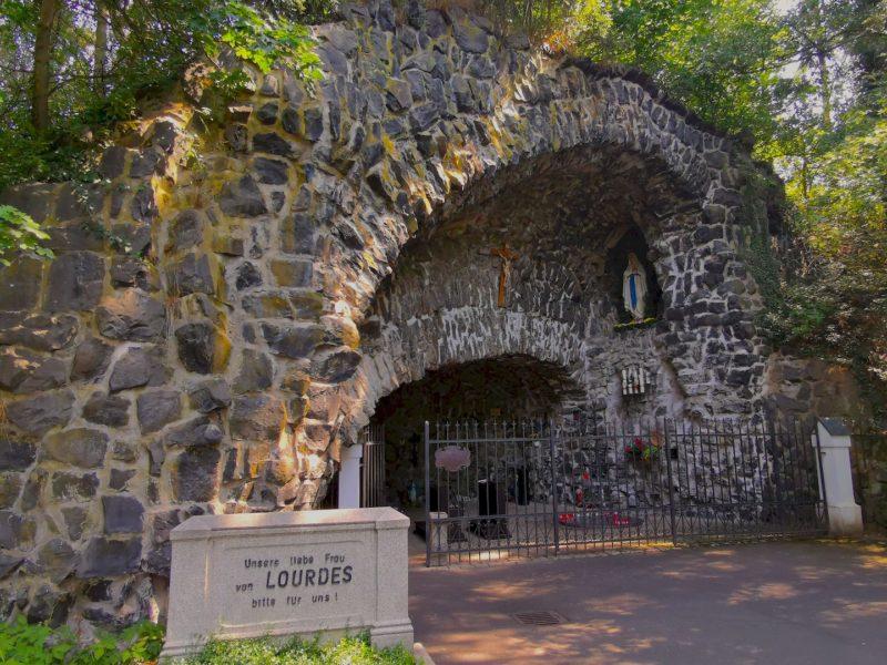 Die Lourdes-Grotte Waldsassen