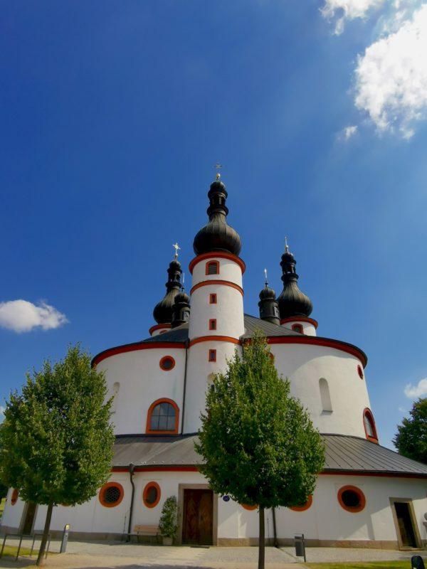 Die Wallfahrtskirche der Heiligsten Dreifaltigkeit