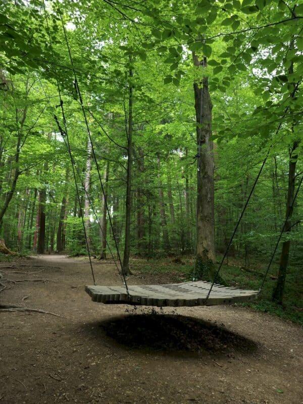 Große Waldschaukel