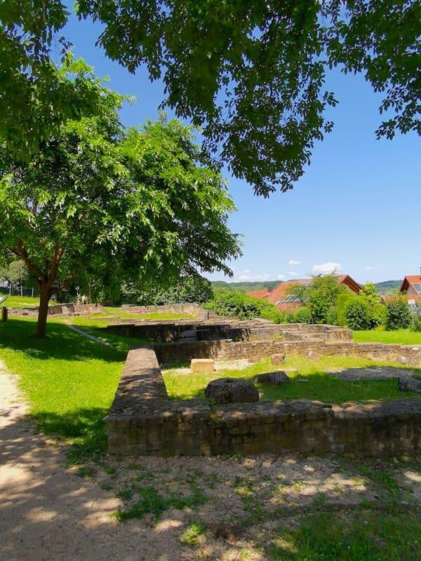 """Die """"Villa Rustica"""", die Überreste eines römischer Gutshofs in Nürtingen-Oberensingen"""