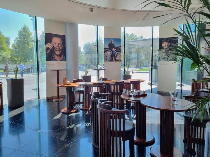 Ein Blick in die Carpe Diem Lounge - Café im Hangar-7