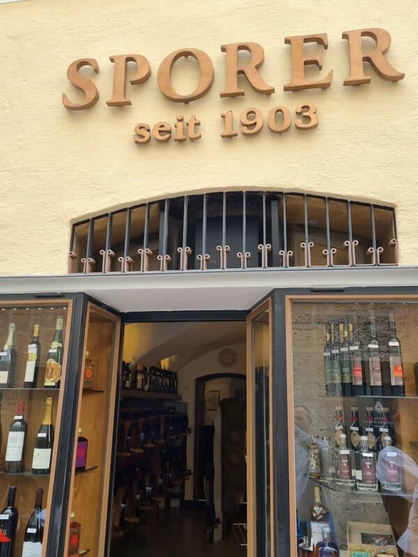 Sporer Likör- & Punschmanufaktur - ein weiteres Traditionshaus in Salzburg